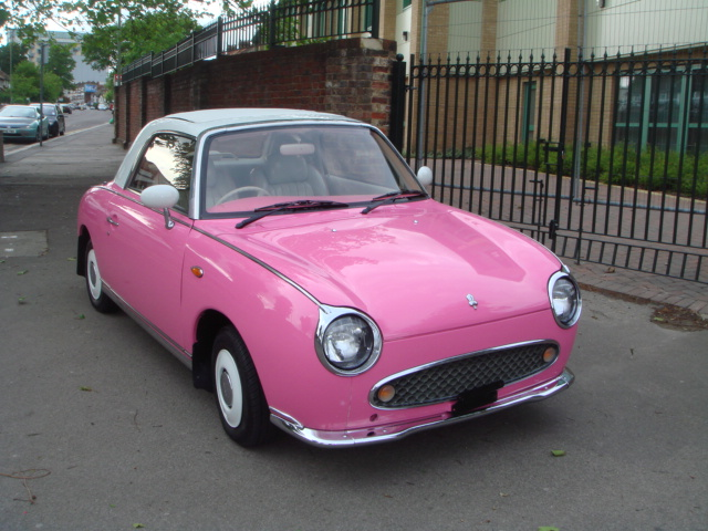 Nissan Of Mobile >> NISSAN FIGARO 1000CC TURBO, Pink