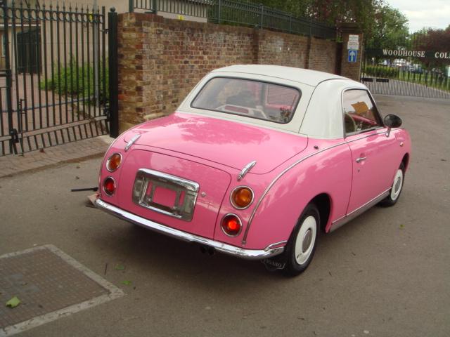 Nissan Figaro 1000cc Turbo Pink